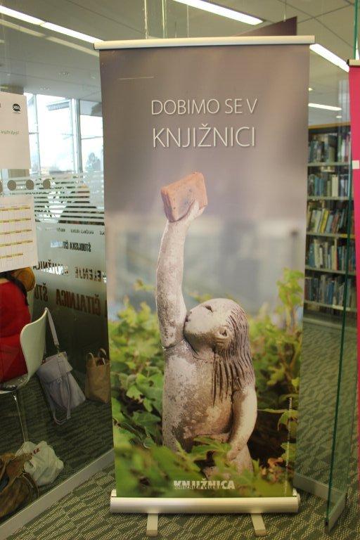 Uporabniki in knjižničarke – Kaj pa knjižničarji?